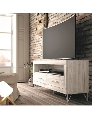 Mueble TV dos cajones y...