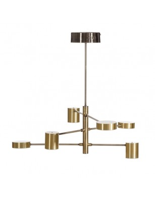 Lámpara de techo FIX 80 cm
