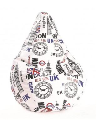 Puff pera amoldable LONDON